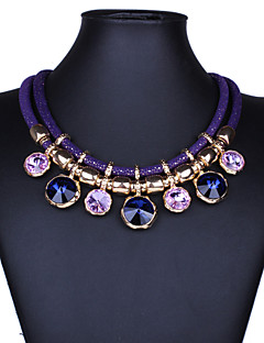 Žene Izjava Ogrlice Jewelry Dragi kamen Kristal Moda Nakit sa stilom Vintage Festival/Praznik Jewelry Za Party Special Occasion Rođendan