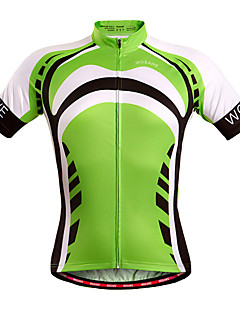 Wosawe® Cycling Jersey Unisex Short Sleeve Bike Breathable / Quick Dry / Windproof / Moisture Permeability Jersey / TopsSpandex /