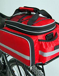 Mala para Bagageiro de Bicicleta/Alforje para Bicicleta / Capas de Mochila (Vermelho / Preto / Azul ,Nailom / Grade / Material á