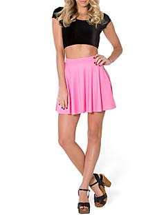 מיני - דק - סגנון - חצאית ( פוליאסטר )