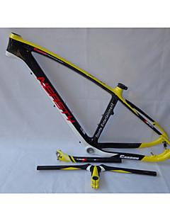MB-NT202G9 Neasty Logo High Qulity Yellow Color 29er Full Carbon Fiber Mtb Frameset Frame Handlebar Seatpost