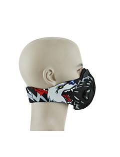 Face Mask Fietsen Stofbestendig Unisex Fluweel Katoen