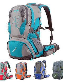 35 L サイクリングバックパック バックパッキング用バックパック 登山 サイクリング/バイク 旅行 キャンピング&ハイキング 防水 防雨 耐久性 多機能の メッシュ ナイロン OSEAGLE