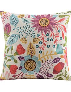 l'été de coton modèle de vie / lin taie d'oreiller décoratif