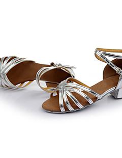 Sapatos de Dança ( Preto/Castanho/Prateado/Dourado/Leopardo/Outro ) - Mulheres - Customizáveis - Latim