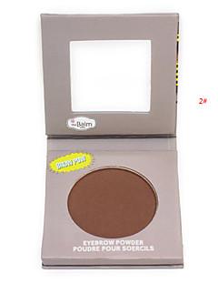 fosco sobrancelha pó / sombra para os olhos / bronzer maquiagem paleta cosmética profissional com conjunto de espelhos aplicador