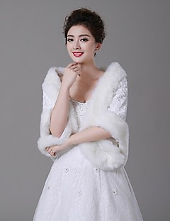모조 모피 - 결혼식 랩 ( 아이보리