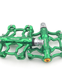 Aluminum Alloy Anti-Slip Durable Green MTB Pedal
