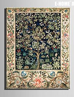 e-Home® árboles arte de la lona y hierba PC pintura decorativa uno estira