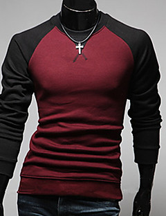 Men's Long Sleeve T-Shirt  Cotton Casual Formal Pure