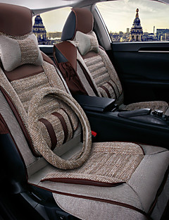 Car Seat Cushion Pad, Autumn And Winter Seasons Set Of Universal Health Care, Linen, Rear Seat Cover 125-135-140 Cm