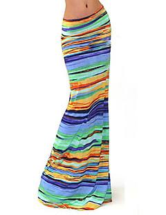 מקסי - בינוני (מדיום) - סגנון - חצאית ( כותנה / פוליאסטר )