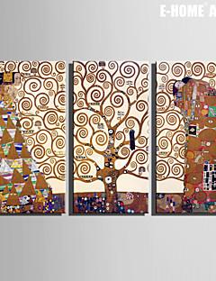 Ritratti / Fantasia Print Canvas Tre Pannelli Pronto da appendere , Verticale