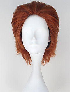 Cosplay Wigs Hunter X Hunter Cosplay Brown Short Anime Cosplay Wigs 33 CM Heat Resistant Fiber Male
