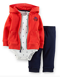 Boy's Cotton / Polyester Overall & Jumpsuit / Clothing Set,Winter / Spring / Fall Check