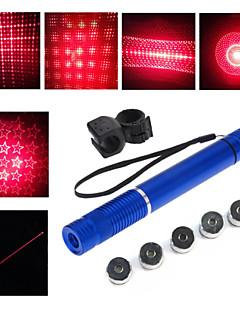 LT - 5mw 650nm Visible Adjustable Beam Red Laser  Pen Flashlight - Black Red  Golden Sliver Blue