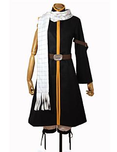 Fairy Tail Natsu Dragneel Coat / Pants / Scarf / Belt Cosplay Costumes