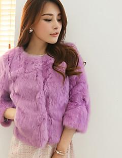 Women Rabbit Fur / Faux Fur Top , Without Lining