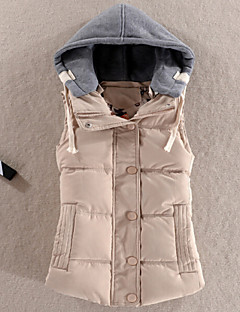 Women's Fashion All Match Hooded Down Vest More Colors