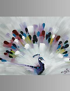 Djur / fantasi / Skojigt / Modern / Popkonst Canvastryck En panel Redo att hänga , Horisontell