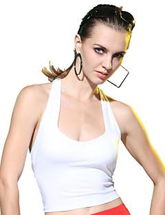 LEFAN ® Ioga tops Alta Respirabilidade (>15,001g) / wicking / Compressão / Elástico / Macio Stretchy Wear SportsIoga / Pilates / Fitness