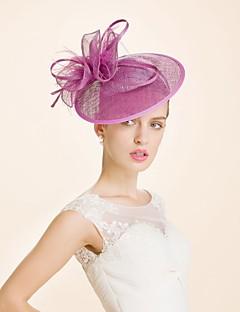 Women's Wool Headpiece-Wedding Special Occasion Headbands 1 Piece