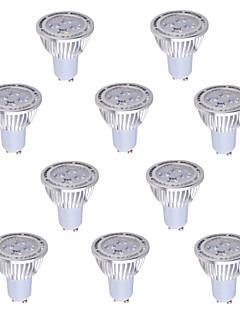 6W GU5.3(MR16) Spot LED MR16 4 COB 540 lm Blanc Chaud / Blanc Froid Décorative AC 85-265 V 10 pièces