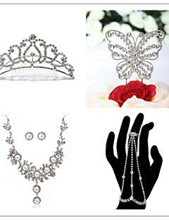 Smykker Set Dame Jubilæum / Bryllup / Forlovelse / Fødselsdag / Gave / Fest / Speciel Lejlighed Juvel SætKvadratisk Zirconium / Imiteret