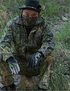 집 밖의 남성의 의류 세트/수트 / 고글 / 겨울 자켓 수렵 / 피싱 방수 / 통기성 / 안티 곤충 가을 / 겨울 다크 그린 - 기타 - L / XL