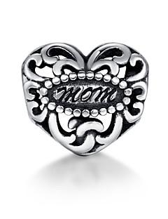 Sterling Silver Bead S925 Bracelet Necklace Bead  for European Charm Silver Bracelets