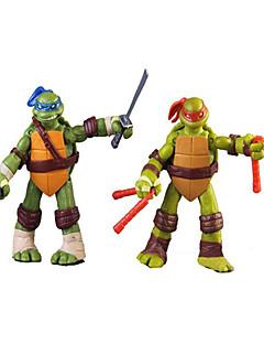 4 stk 12cm TMNT Teenage Mutant Ninja Turtles pvc actionfigur anime modell