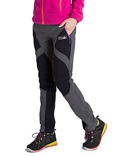 Naisten Softshell-housut Pidä lämpimänä Anatominen tyyli Eristetty Kosteuden läpäisevä Käytettävä Hengittävä YKK vetoketju Pants Alaosat