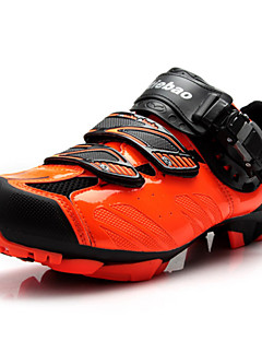 Z.SUO Men's Cycling Sneakers Spring / Summer/Autumn/Winter Anti-Slip /Damping / Impact/Wearproof Shoes Black/Orange