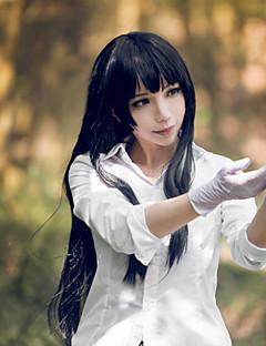Beautiful Bones Sakurako's Investigation Sakurako Kujou Black Straight Cosplay Wig