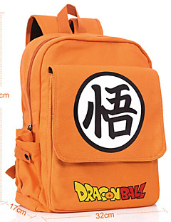 Bag Inspired by Dragon Ball Cosplay Anime Cosplay Accessories Bag / Backpack Orange Canvas Male / Female