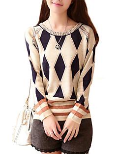 Women's Round Collar Fashion Elegant Knitwear Pullover