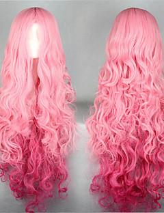 Sweet Lolita 100CM Long Pink Lolita Wig
