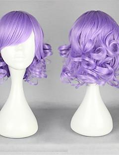 Sweet Lolita 35CM Short Light Purple Lolita Wig