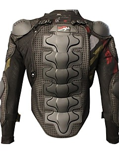 Pro-Radfahrer-Motorrad-Schutzpanzer verbesserte Verdickungsmotocrossrennen Ganzkörperschutzwesten schwarzen Schutzausrüstung