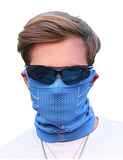 Kolo/Cyklistika Face Mask Pánské Bez rukávů Prodyšné / Odolné vůči prachu Terylen Jednobarevné Červená / Modrá Zdarma Velikost