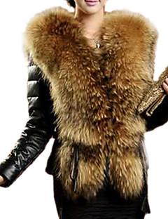Women Faux Fur Top  Lined
