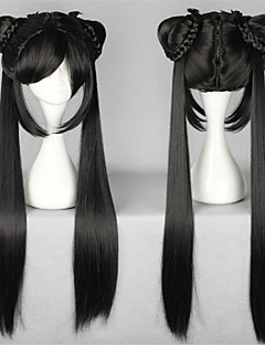 Sweet Lolita 70CM Long Black Lolita Wig