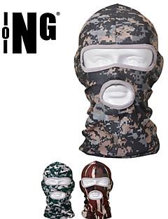 Moto/Ciclismo Máscara Facial Unissexo Respirável / Secagem Rápida / Á Prova-de-Pó / A Prova de Vento / Filtro Solar Grade / LYCRA®Tamanho
