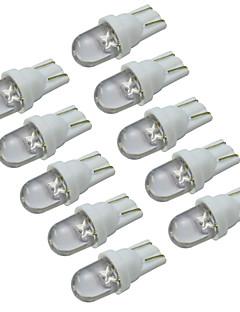 T10 Moto Automatique Camions & Mobile-Home Blanc Blanc froid 0.5W LED Dip 6000-6500Ruban lumineux Feux de position latéraux Angel Eyes