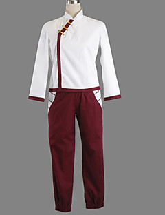 Inspired by Naruto Tenten Anime Cosplay Costumes Cosplay Suits Patchwork White Coat / Pants / Shorts / Gloves