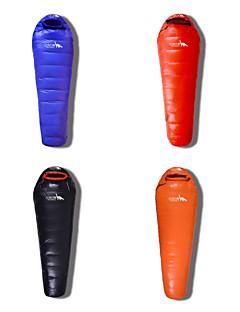 Saco de dormir Tipo Múmia Solteiro (L150 cm x C200 cm) -30℃ Penas de Pato 2000g 215X80 Campismo Prova de Água / Mantenha Quente Beckles