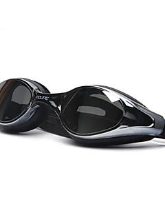 FEIUPE svømmebriller Dame Herre Unisex Anti-Tåge Vandtæt Justerbar Størrelse Anti-UV Polariseret Linse Silika Gele PCHvid Grå Sort