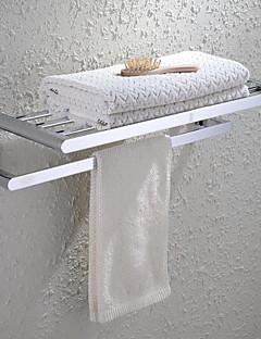 HPB®,Держатель для полотенец / Полка для ванной Хром Крепление на стену 60*23*13cm(23.6*9*5.1 inch) Медь Современный