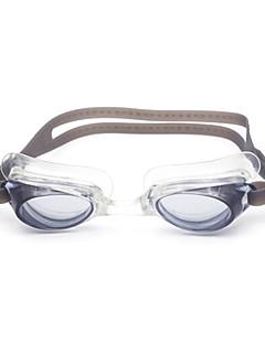 плавательные очки Универсальные Противо-туманное покрытие Силикагель Поликарбонат белый / черный / синийТёмно-синий / красный / серый /