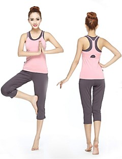 Running Shorts / Tank / Clothing Sets/Suits / Bottoms Women's Short Sleeve Breathable / Ultra Light Fabric / Softness / Soft ModalYoga /